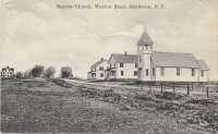 Peoples Baptist Church, circa 1910 outside Maybrook, NY.
