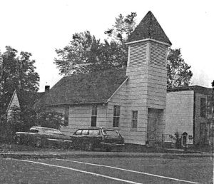 People's Baptist Church circa 1970's.